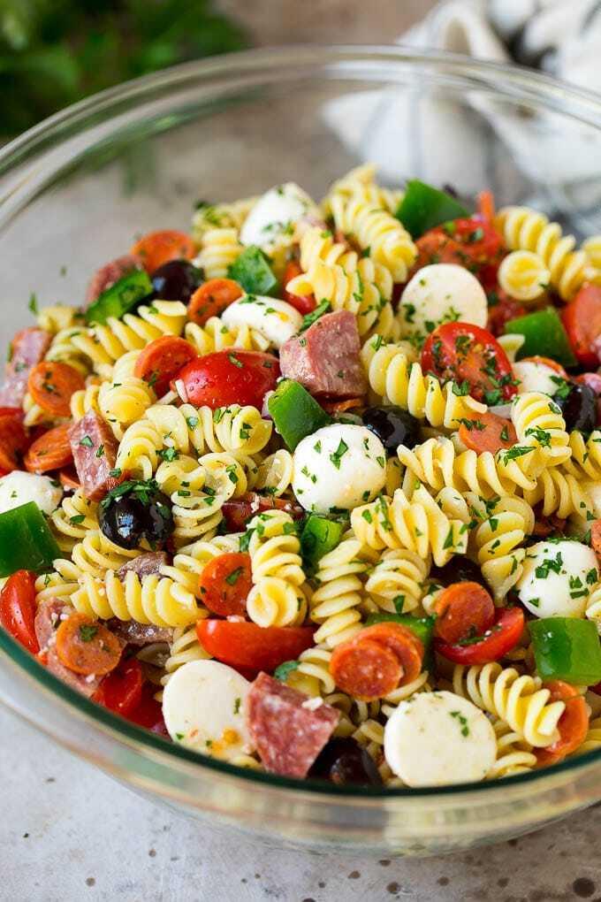 Italienischer Nudelsalat à la Lisa