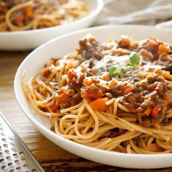 Vegetarische Bolognese Rezept