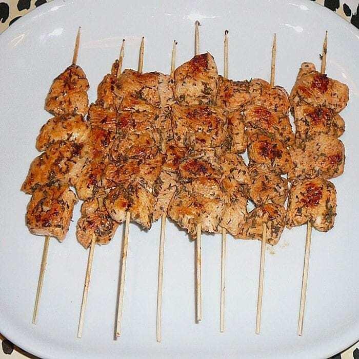Maurische Hühnerspieße