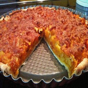 Kürbis Raclettekuchen