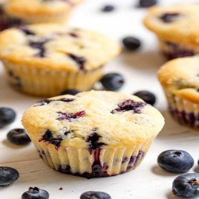 blaubeer muffin rezept