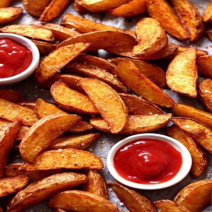 Kartoffel Wedges Selber Machen