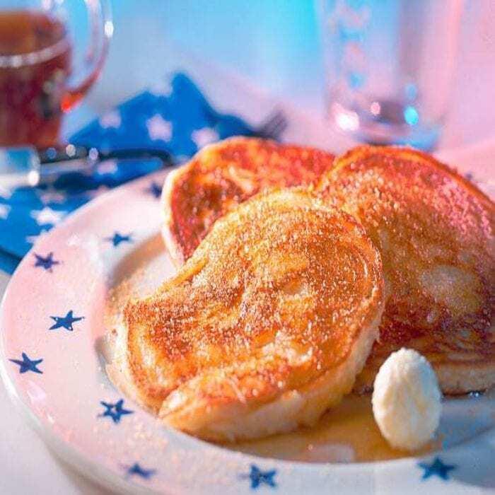 Amerikanische Buttermilch Pfannkuchen
