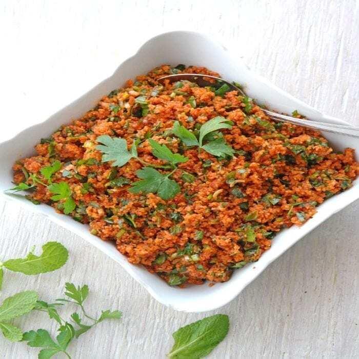 Bulgur-Salat (Kisir)