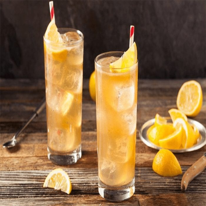 Zitronen Eistee