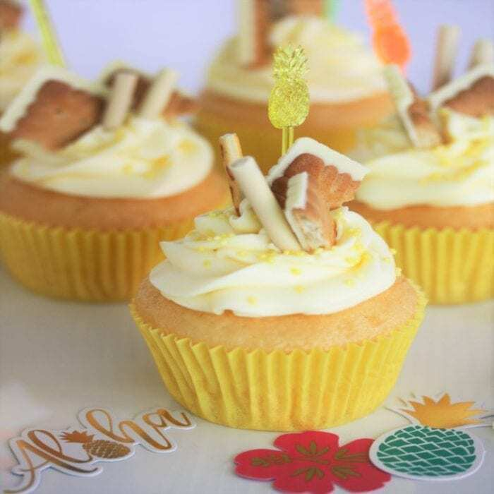 Zitronen Cupcakes mit Creamcheese-Frosting