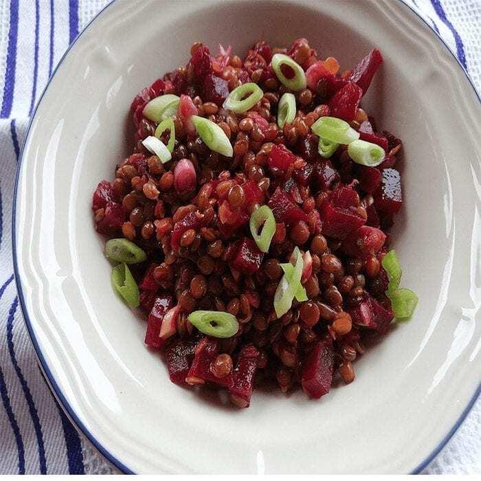 Linsen Rote Bete Salat