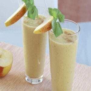 Apfel Bananen Smoothie