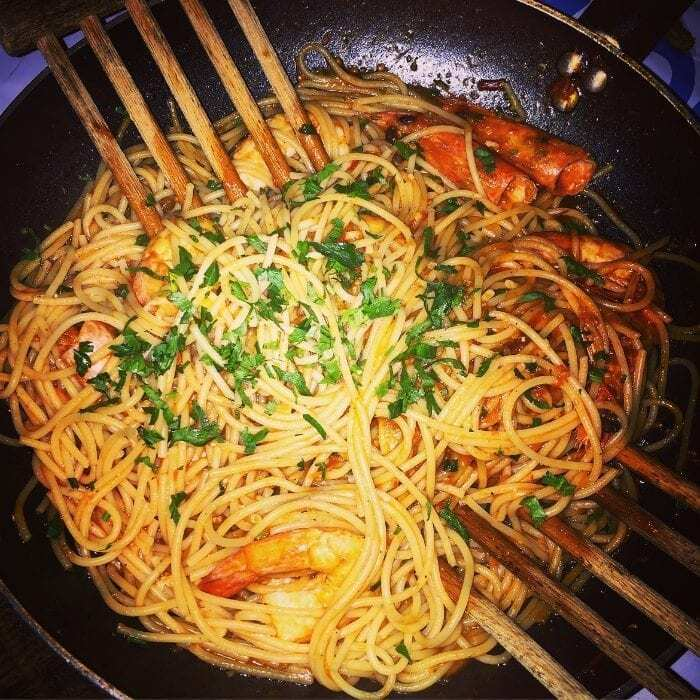 Spaghetti Rezept Einfach!