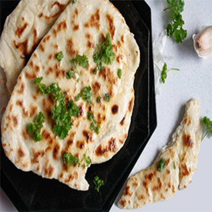 indisches-Naan-Brot