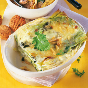 Kohlrabi Lasagne