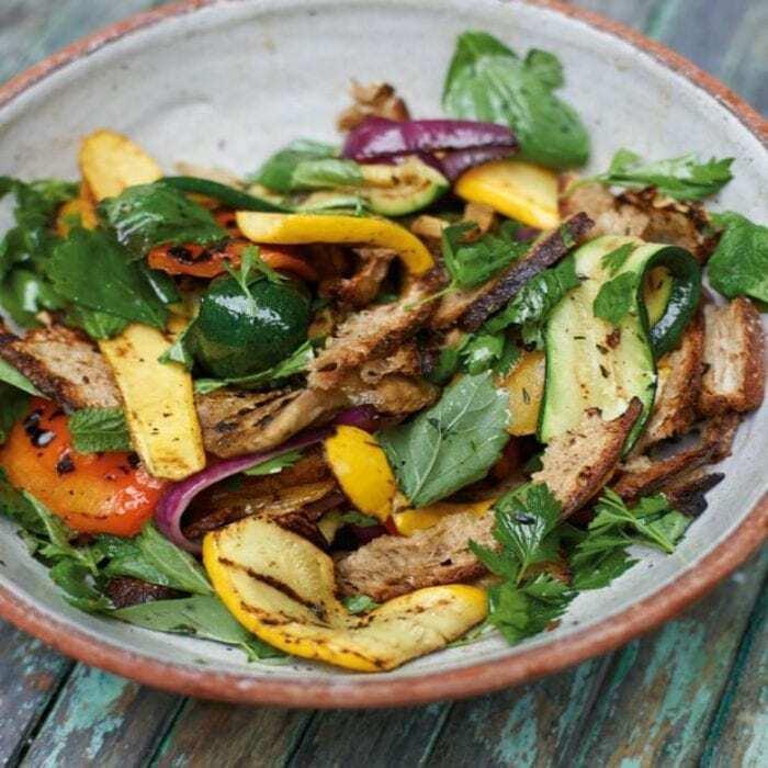 Grillgemüse Salat