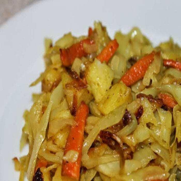 Äthiopisches Kohlgericht