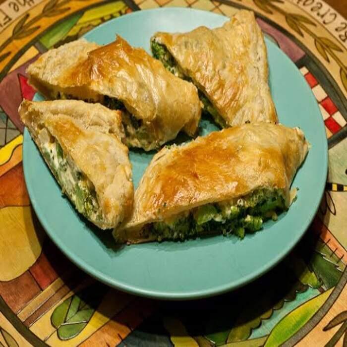 Brokkoli – Strudel – Blätterteig