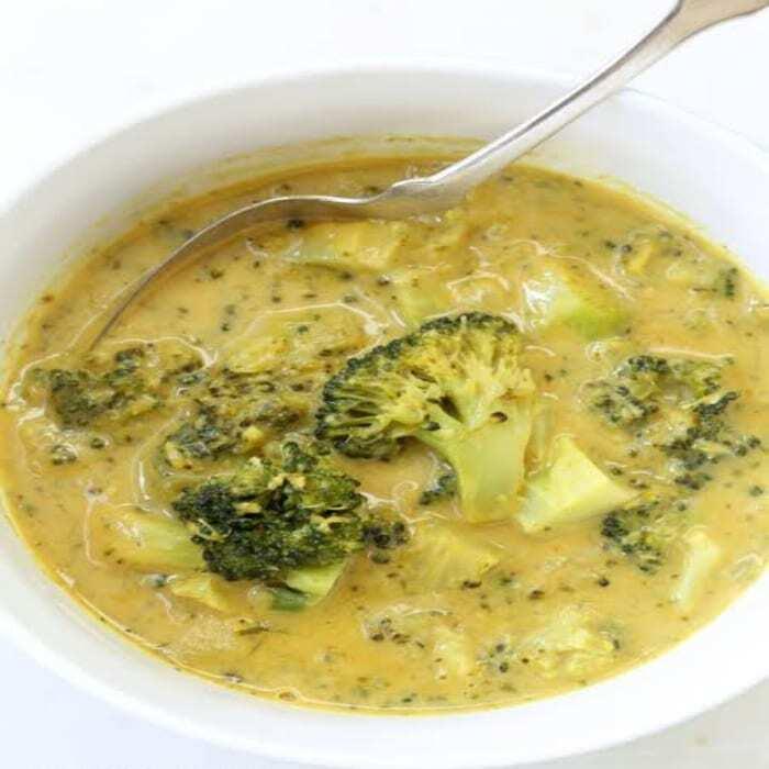 Brokkoli Curry Kokosmilch Suppe