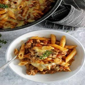 Hackfleisch-One-Pot-Pasta