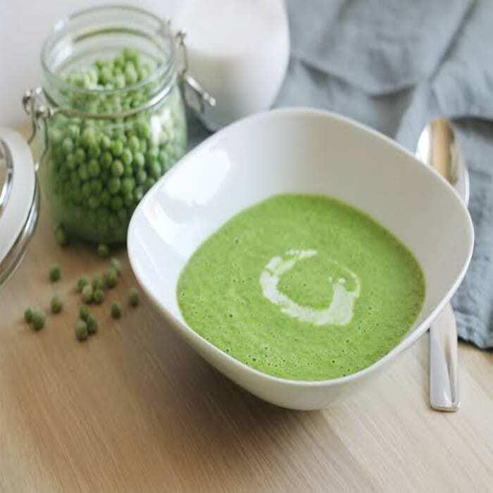 Spinat – Erbsen – Cremesuppe