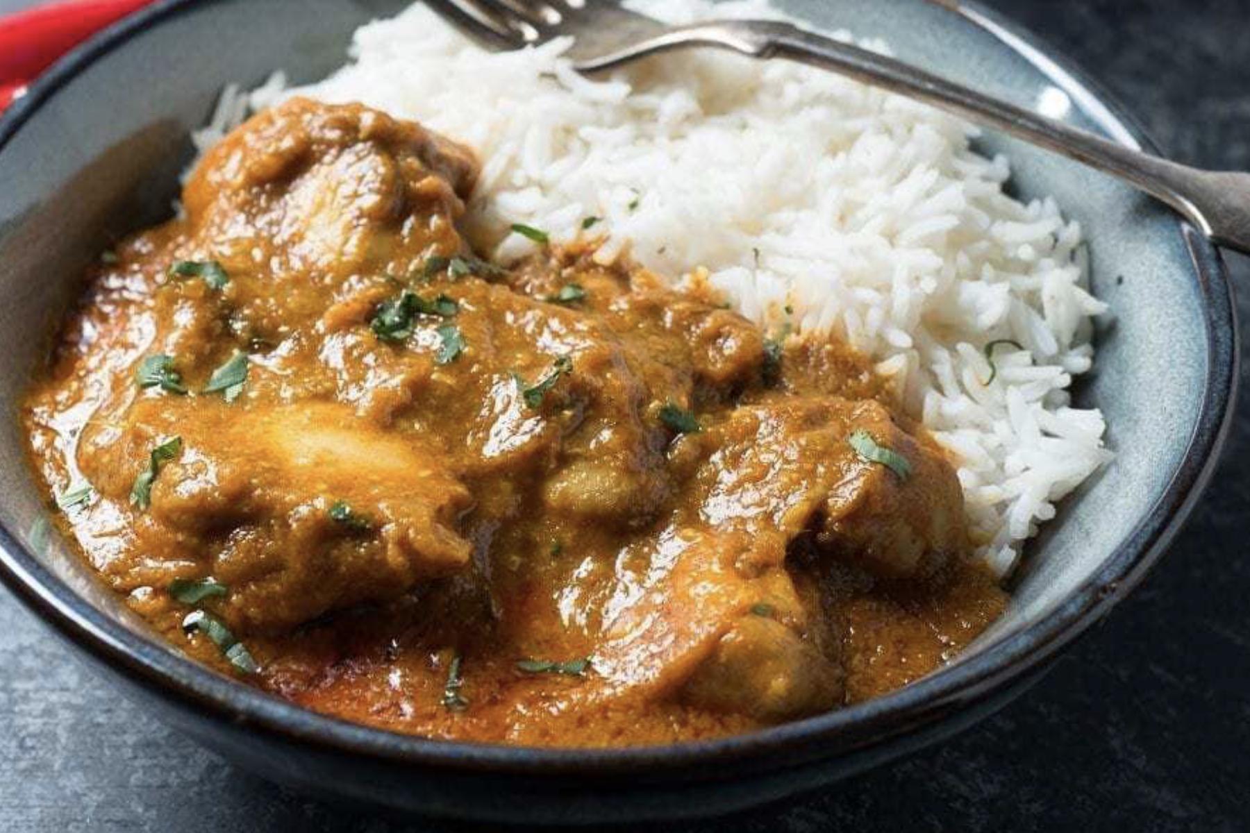 Chicken Madras Curry Rezept