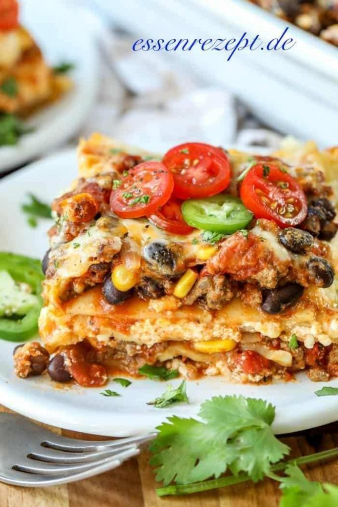 Mexikaner-Taco Lasagna