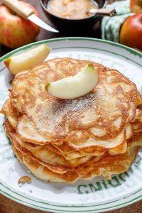 Omas-Apfelpfannkuchen