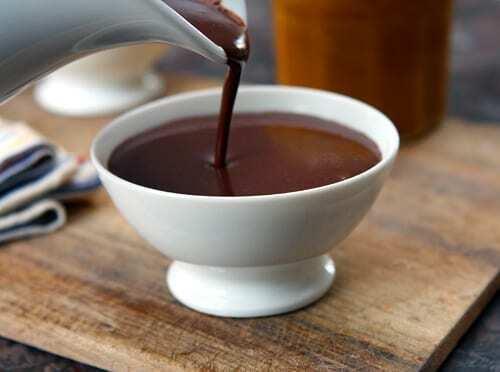 Pariser Rezept für heiße Schokolade