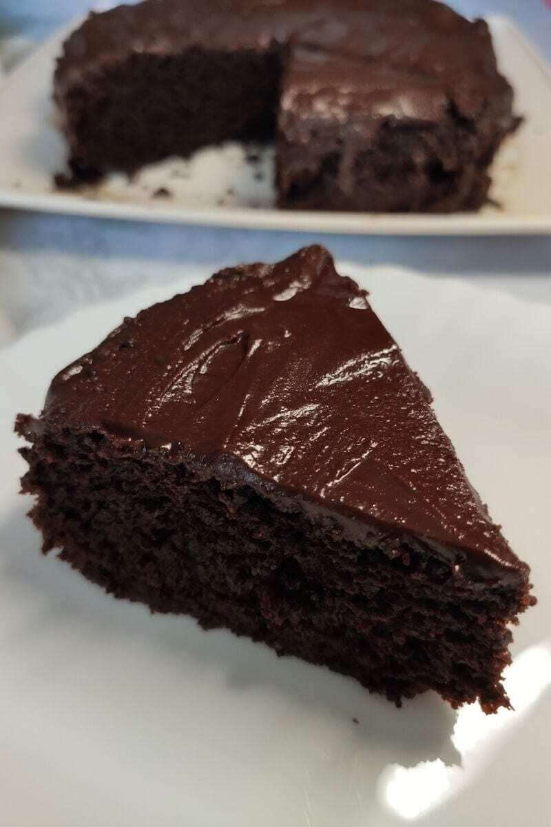 Einfache Veganer Schoko Kuchen