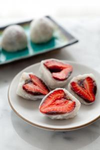 Erdbeer-Mochi-Rezept