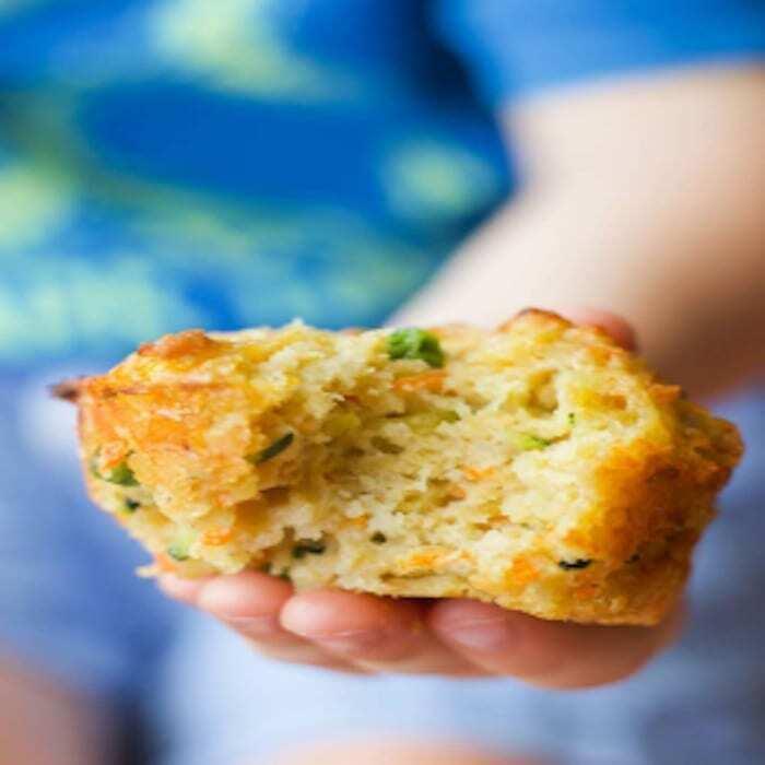 Gemüse Muffins