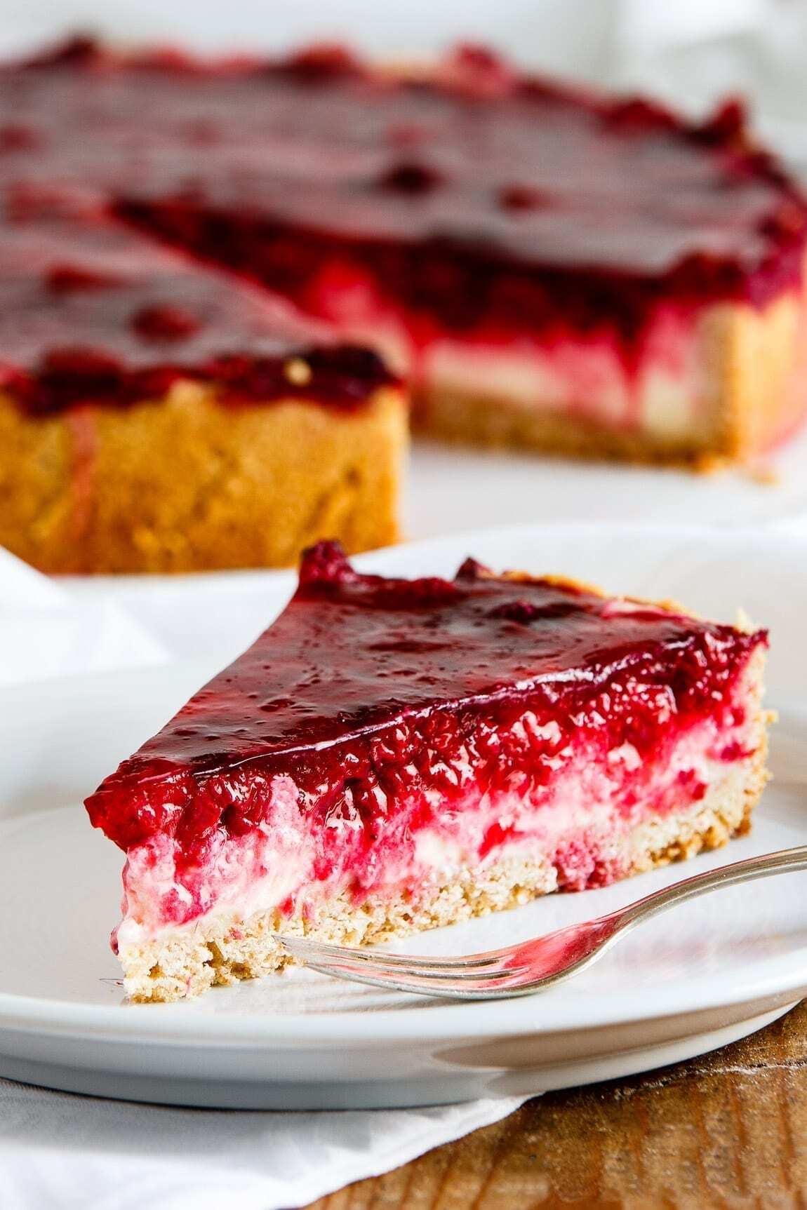 Himbeer-Schmand-Kuchen