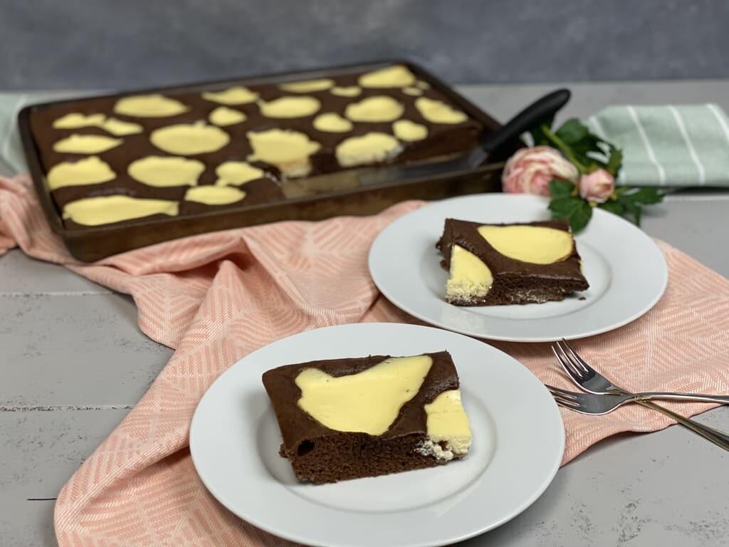 Kuhflecken-Kuchen