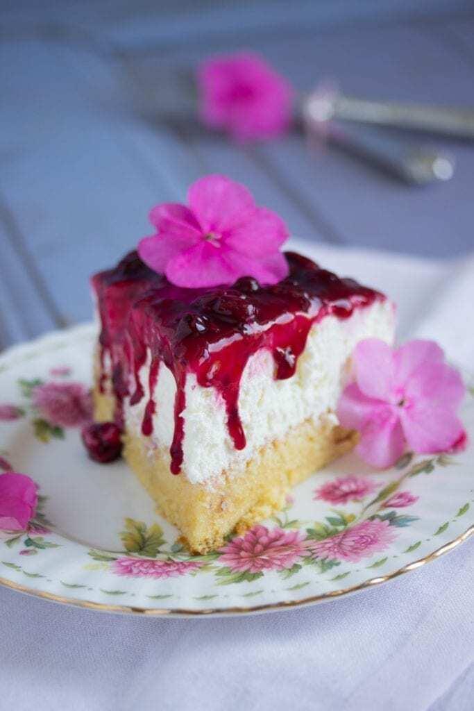 Rote Grütze Kuchen