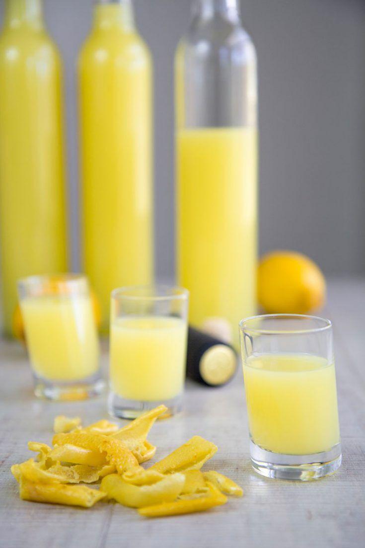 Limoncello Rezept