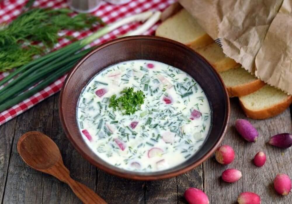 Okroschka Suppe Rezept