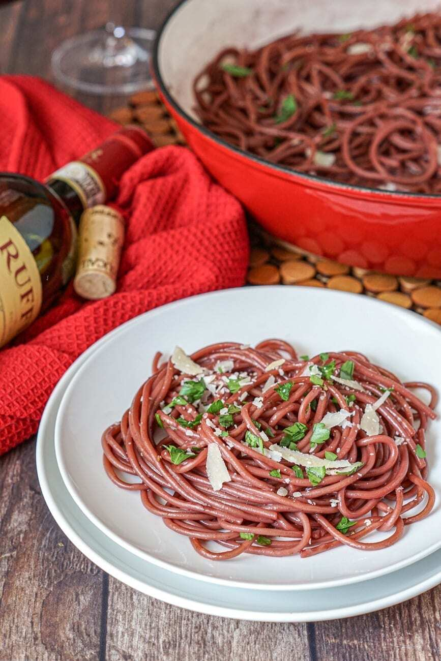 Rezept Betrunkene Spaghetti