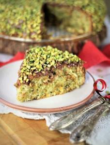 Ricotta Pistazien Kuchen
