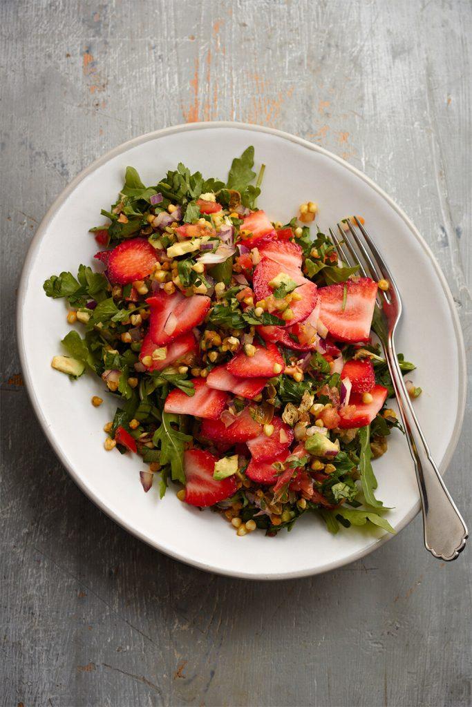 Erdbeer Buchweizen Tabouleh