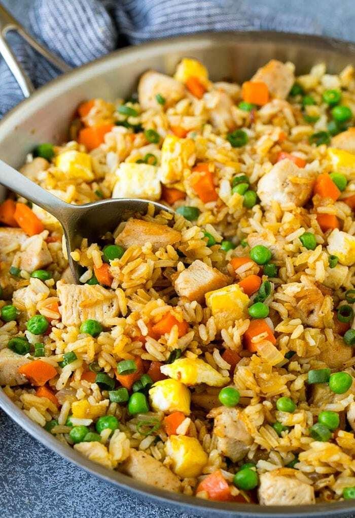 Gebratener Reis Rezept