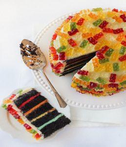 Gummibärchen Kuchen