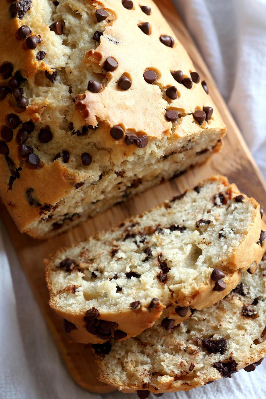 Kuchen mit Schokostückchen