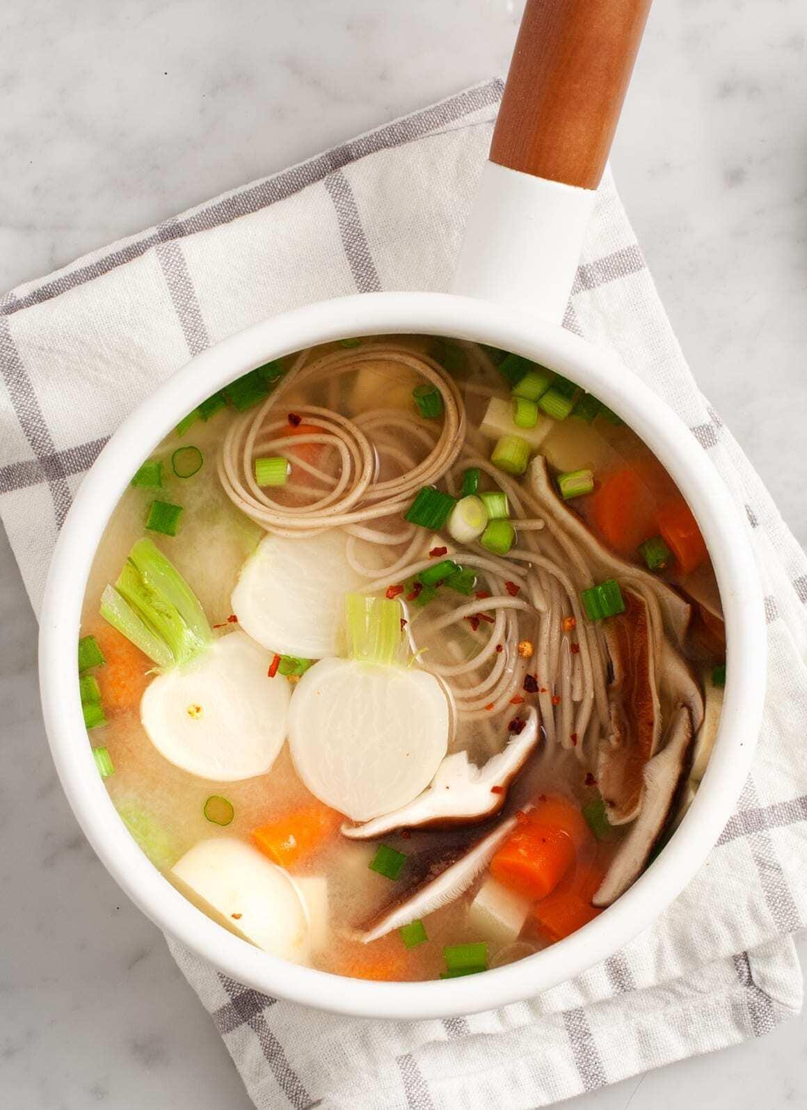Miso Suppe Rezept