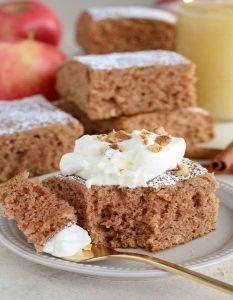 Apfelmus Kuchen