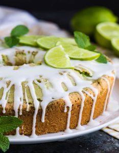 Erfrischender Kuchen