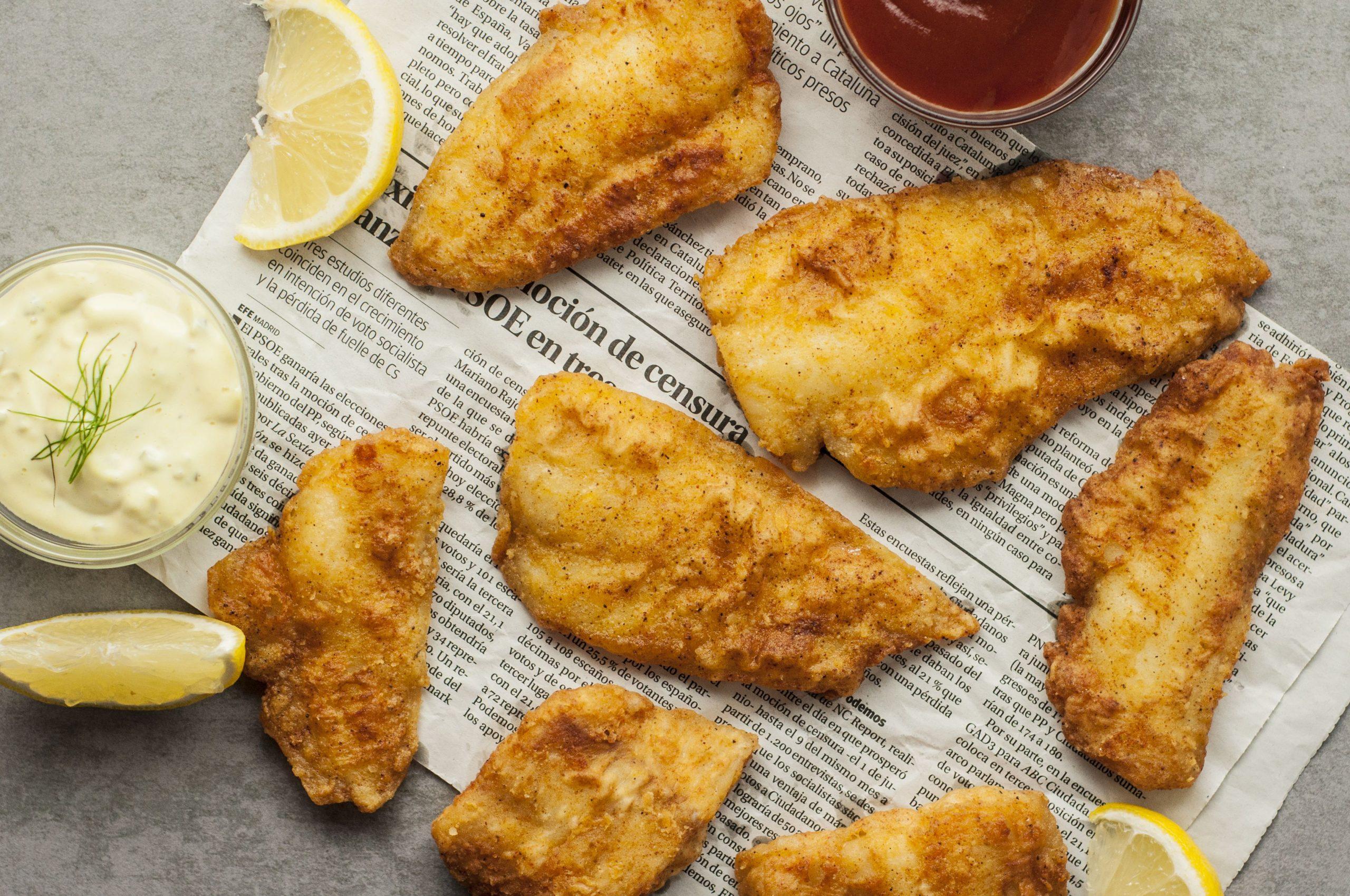 Backfisch Rezept