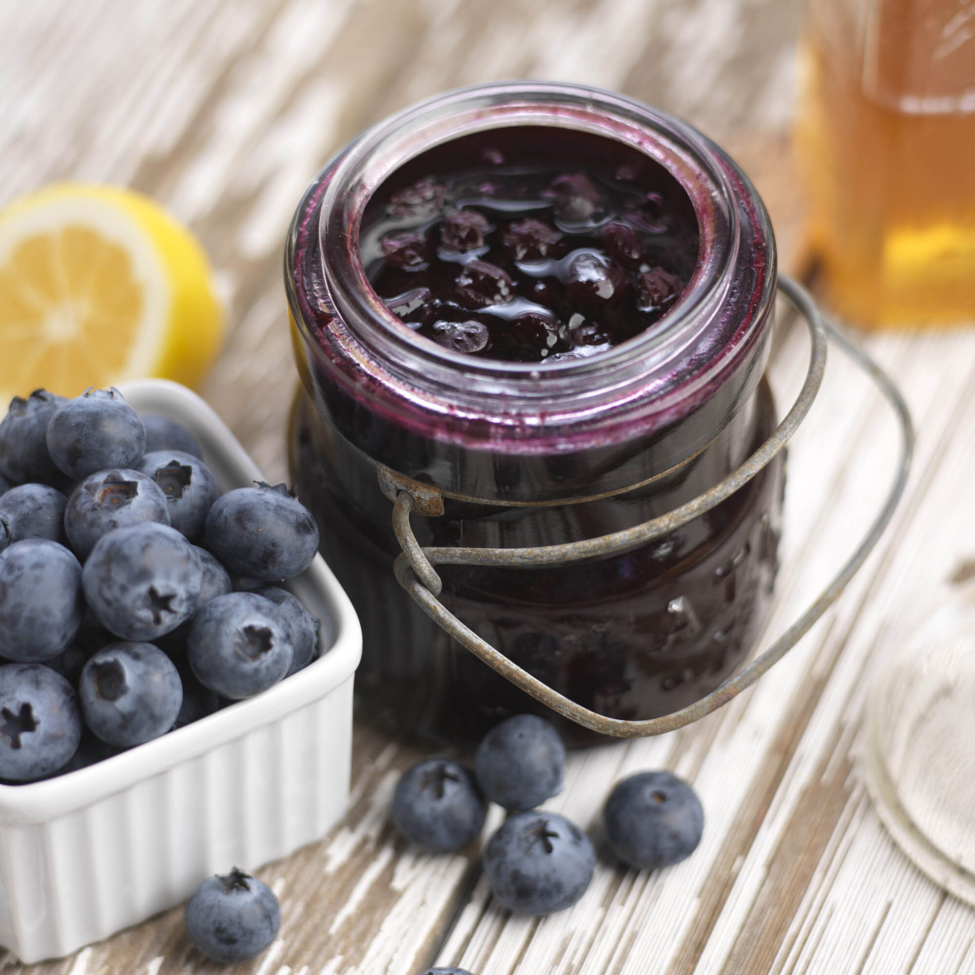 Blaubeermarmelade Rezept