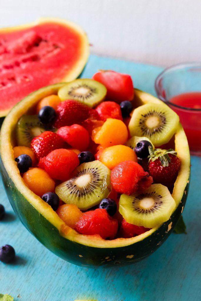 Dessert mit Melone-2