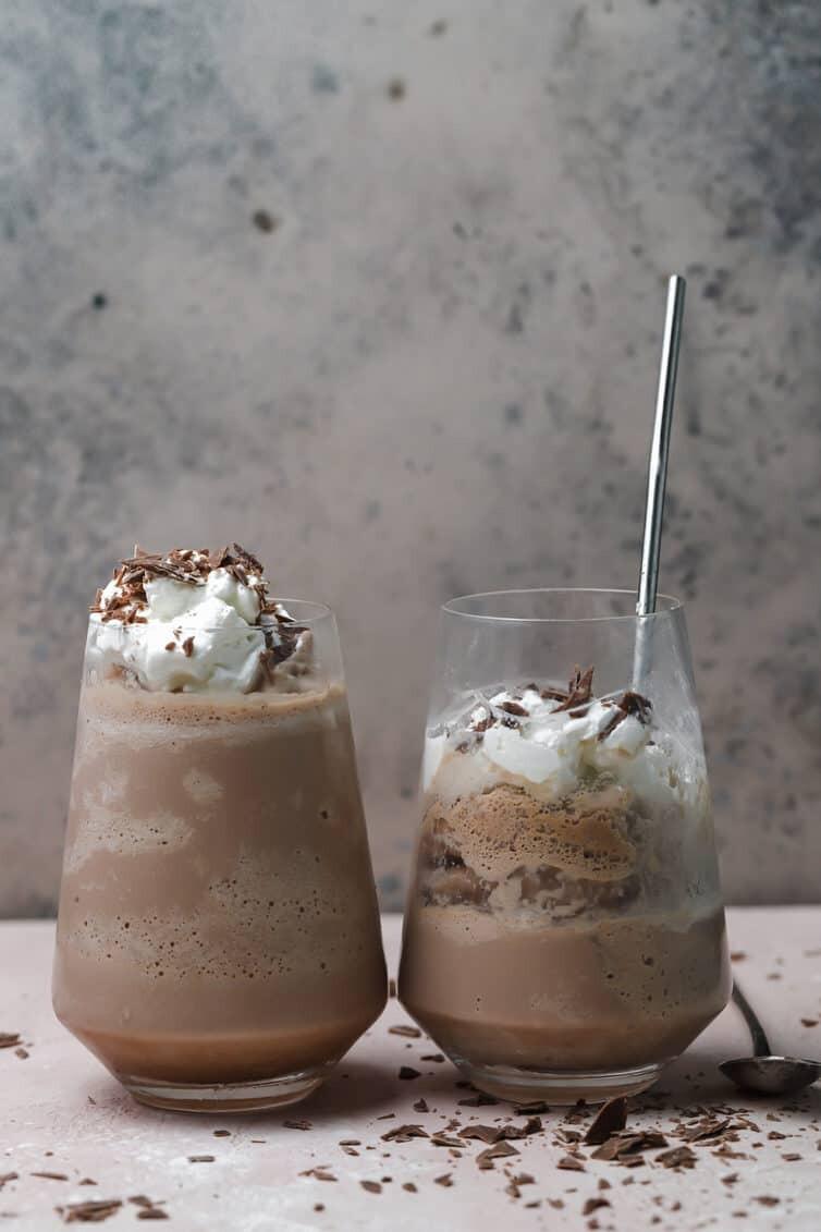 Eisschokolade Rezept