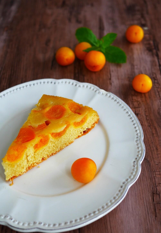 Kuchen mit Mirabellen