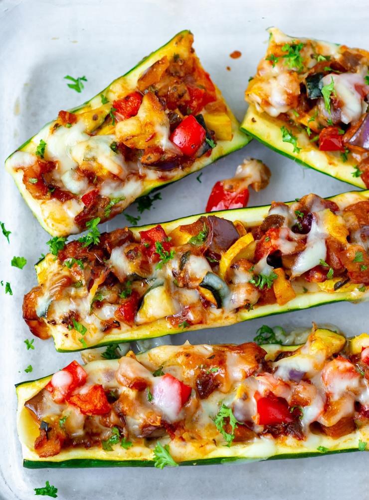 Rezept Gefüllte Zucchini-7