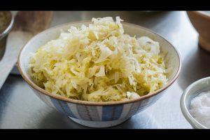 Sauerkraut Rezept