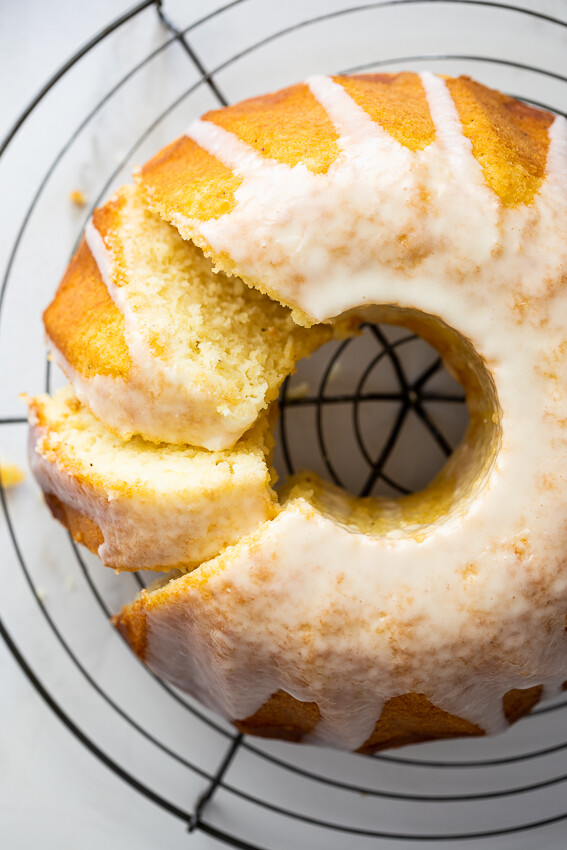 Saure Sahne Kuchen